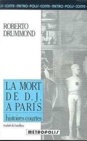 La mort de D. J. à Paris - Couverture - Format classique