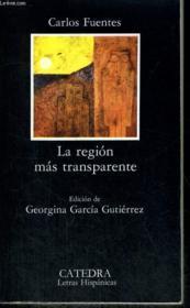 Region mas transparente - Couverture - Format classique