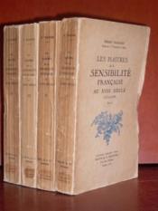 Les maîtres de la sensibilité française au XVIIIème siècle (1715-1789). - Couverture - Format classique