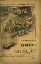 A La Recherche De La Mission Marchand. Prisonnieres Des Gorilles. - Couverture - Format classique