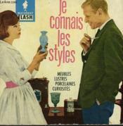 Du Moyen-Age Au Romantisme... Je Connais Les Styles - Couverture - Format classique