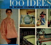 100 Idees Pour Etre Heureuse - Supplement Mensuel Gratuit De Marie-Claire N°61 - Couverture - Format classique