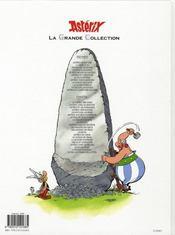 Astérix t.5 ; le tour de Gaule d'Astérix - 4ème de couverture - Format classique
