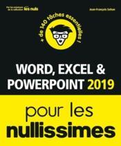 Word, Excel, Powerpoint pour les nullissimes (édition 2019) - Couverture - Format classique