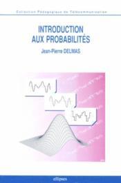 Introduction Aux Probabilites - Couverture - Format classique