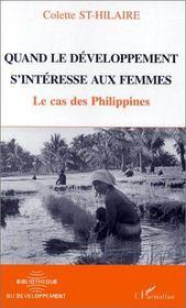 Quand le développement s'intéresse aux femmes ; le cas des Philippines - Intérieur - Format classique