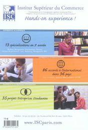 Annales 2005 de la banque d'épreuves communes, CCIP. sujets et corrigés - 4ème de couverture - Format classique
