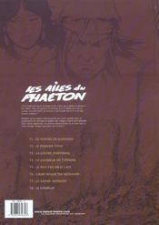 Les ailes du phaëton t.8 ; le complot - 4ème de couverture - Format classique