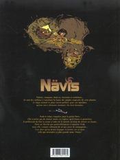 Nävis t.1 ; Houyo - 4ème de couverture - Format classique