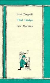 'had gadya - Couverture - Format classique