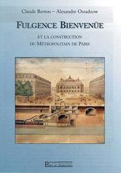 Fulgence Bienvenüe et la construction du métropolitain de Paris - Intérieur - Format classique