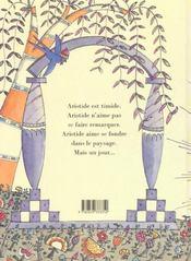 Aristide le timide - 4ème de couverture - Format classique