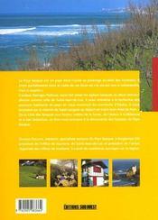 Le pays basque - 4ème de couverture - Format classique