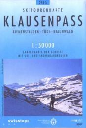 Klausenpass ; 246 S - Couverture - Format classique