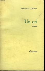 Un Cri. - Couverture - Format classique