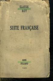Suite Francaise. - Couverture - Format classique