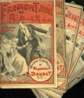 Lot De 6 Fascicules. Fromont Jeune Et Risler Aine. Oeuvres Completes D'Alphonse Daudet. N° 18-24-25-29-32. - Couverture - Format classique