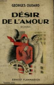 Desir De L'Amour. - Couverture - Format classique