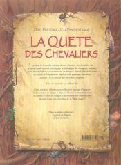 La quête des chevaliers - 4ème de couverture - Format classique