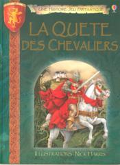 La quête des chevaliers - Couverture - Format classique