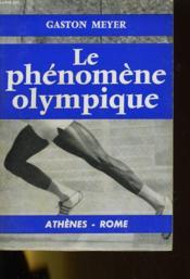 Le Phenomene Olympique - Couverture - Format classique