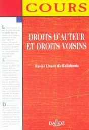 Droits D'Auteur Et Droits Voisins - Intérieur - Format classique