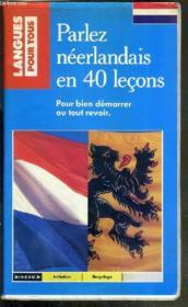 Parlez Neerlandais En 40 Lecons/ Coffret - Couverture - Format classique