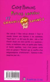 Filles t.13 ; petits copains et grandes copines - 4ème de couverture - Format classique