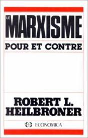 Le marxisme ; pour et contre - Couverture - Format classique