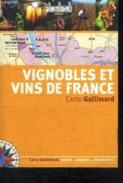 Vignobles et vins de france - Couverture - Format classique