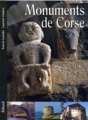 Monuments de Corse - Couverture - Format classique