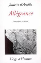 Allegeance - Couverture - Format classique