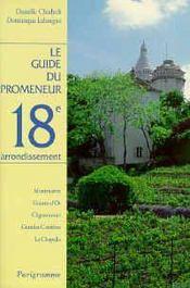 Guide promeneur 18e arrondis - Intérieur - Format classique