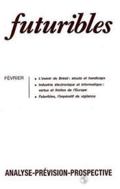 Futuribles N.162 Fevrier 1992 - Couverture - Format classique