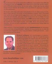 Pleinement soi (édition 2005) - 4ème de couverture - Format classique