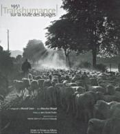 Transhumance sur la route de l'herbe neuve - Couverture - Format classique