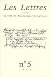 Revue Les Lettres De La Spf N 5 1999 - Lectures - Couverture - Format classique