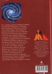 Le destin de l'univers ; le big bang, et après - 4ème de couverture - Format classique