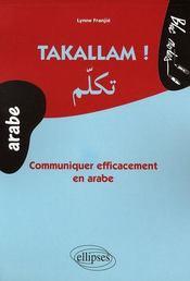 Takallam ! communiquer efficacement en arabe - Intérieur - Format classique