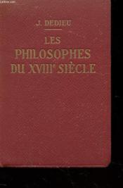 LES PHILOSOPHES DU XVIIIe SIECLE - EXTRAITS - Couverture - Format classique