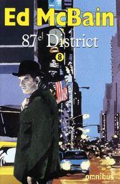 87e district t.8 - Couverture - Format classique
