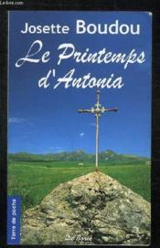 Le printemps d'Antonia - Couverture - Format classique