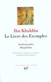 Le livre des exemples t.1 - Intérieur - Format classique