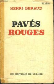 Paves Rouges - Couverture - Format classique