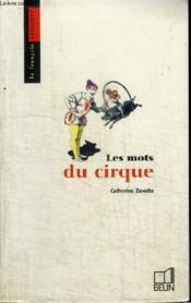 Les mots du cirque - Couverture - Format classique
