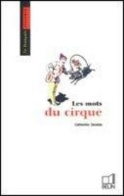 Les mots du cirque - Intérieur - Format classique