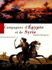 Campagnes d'egypte et de syrie - Intérieur - Format classique