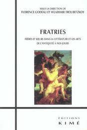 Fratries - Intérieur - Format classique