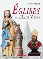 Eglises de la haute-vienne - Couverture - Format classique