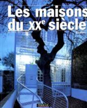 Maisons du xxe siecle - Couverture - Format classique